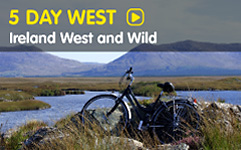5 Day West tour of Ireland with walking & cycling Adventure Tours with Wolfhound Adventure Tours