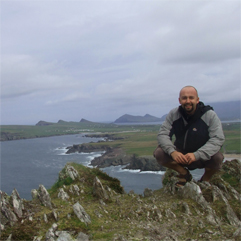 Dave O'Connor, Private Local Irish Guide from Wolfhound Adventure Tours